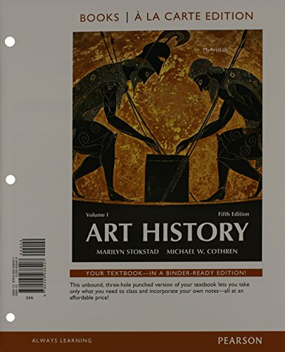 9780205938476: Art History volume 1, Books a la Carte Plus NEW MyArtsLab with eText -- Access Card Package (5th Edition)