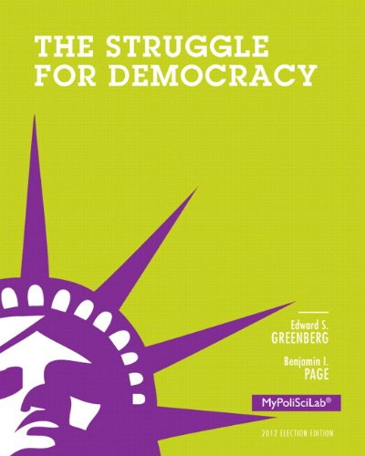 9780205938919: NEW MyPoliSciLab with Pearson eText -- Standalone Access Card -- for The Struggle for Democracy, 2012 Election Edition (11th Edition)