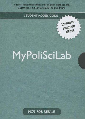 9780205938933: The Struggle for Democracy MyPoliSciLab Access Code: 2012 Election Edition (Mypoliscilab (Access Codes))