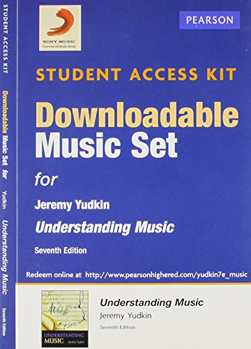 9780205939114: Download Music Card for Understanding Music