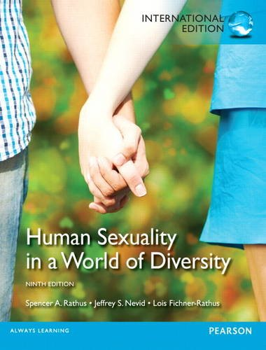 Human sexuality in a world of diversity 9th edition citation
