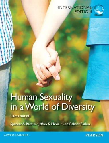 Rathus human sexuality