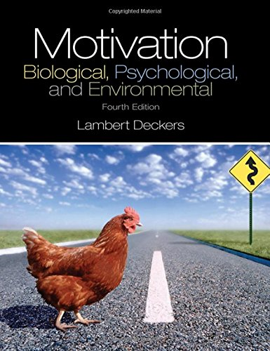 9780205941001: Motivation: Biological, Psychological, and Environmental