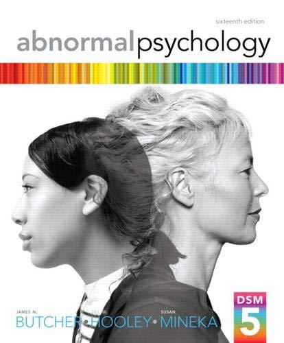 9780205944286: Abnormal Psychology (16th Edition)