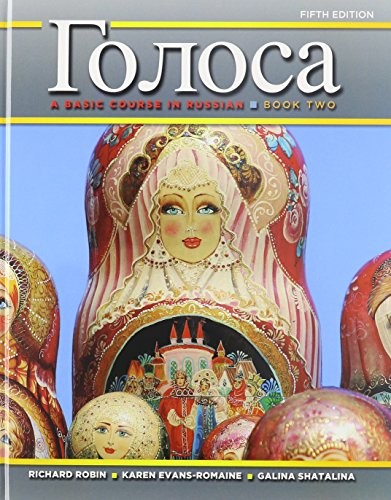 Golosa: A Basic Course in Russian, Book Two Plus Student Activities Manual (5th Edition): Robin, ...