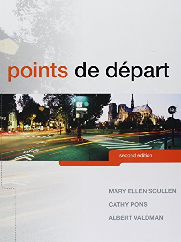 9780205944989: Points de départ, Student Activity Manual, and MyFrenchLab with eText and Access Card (2nd Edition)