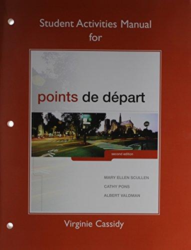 9780205945023: Points de départ, Books a la Carte Edition & MyLab French with Pearson eText -- Access Card -- for Points de depart (multi-semester access) & Student Activities Manual for Points de départ Package