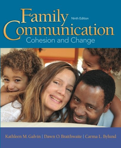 9780205945238: Family Communication: Cohesion and Change