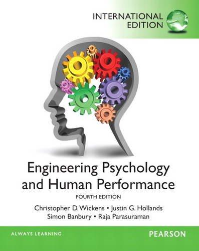 9780205945740: Engineering Psychology & Human Performance