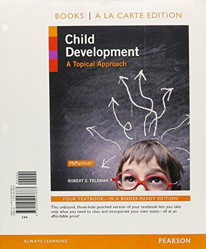 9780205947683: Child Development: A Topical Approach, Books a la Carte Edition