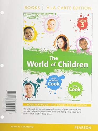 9780205947706: World of Children, The, Books a la Carte Plus NEW MyPsychLab with eText -- Access Card Package (3rd Edition)