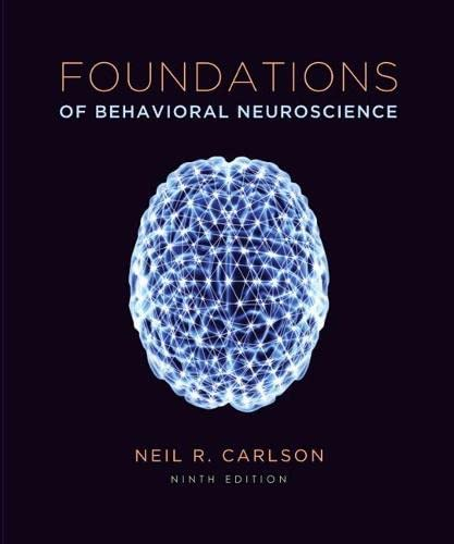 9780205947997: Foundations of Behavioral Neuroscience (paper) (9th Edition)