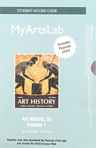 9780205948376: NEW MyArtsLab with Pearson eText -- Standalone Access Card -- for Art History, Volume 1 (5th Edition)