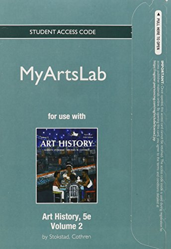 9780205948512: NEW MyLab Arts -- Standalone Access Card -- for Art History Volume 2 (5th Edition)