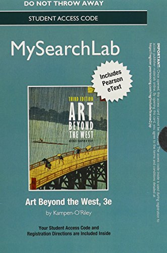 9780205948741: MySearchLab with Pearson eText -- Standalone Access Card -- for Art Beyond the West (3rd Edition)