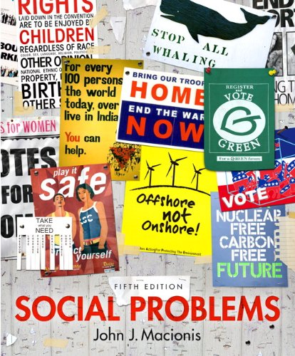 9780205949199: Social Problems Plus NEW MySocLab with eText -- Access Card Package (5th Edition)
