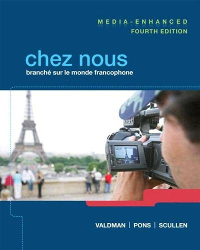 9780205949458: Chez nous Media-Enhanced Version Plus MyFrenchLab (multi semester access) with eText -- Access Card Package (4th Edition)