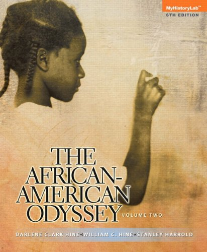 9780205949953: The African-American Odyssey: Volume 2, Books a la Carte Plus NEW MyHistoryLab with eText -- Access Card Package (6th Edition)