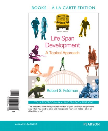 9780205951161: Life Span Development: A Topical Approach, Books a la Carte Edition (2nd Edition)
