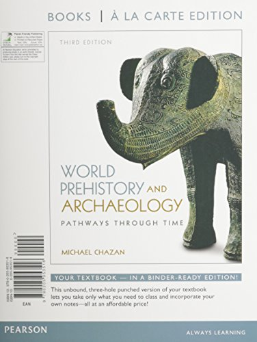 9780205953462: World Prehistory and Archaeology, Books a la Carte Plus MySearchLab with eText -- Access Card Package (3rd Edition)