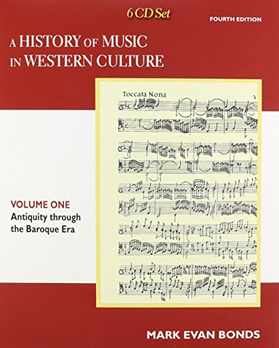 9780205953554: CD Set Volume I for A History of Music in Western