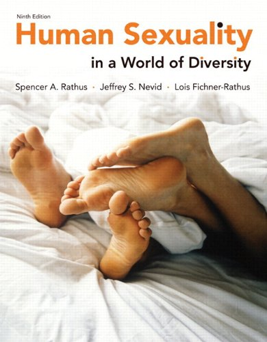 9780205955336: Human Sexuality in a World of Diversity (paper) (9th Edition)