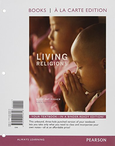 9780205956906: Living Religions, Books a la Carte Edition Plus NEW MyReligionLab with eText -- Access Card Package (9th Edition)