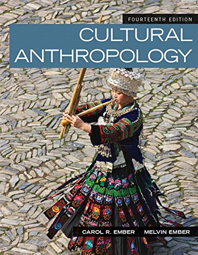 Cultural Anthropology (14th Edition): Ember, Carol R.; Ember, Melvin R.; Peregrine, Peter N.