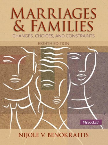 Marriages and Familes Plus NEW MySocLab with Pearson eText -- Access Card Package (8th Edition): ...