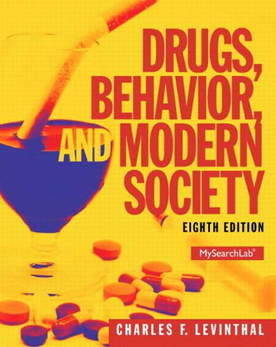 9780205959334: Drugs, Behavior, and Modern Society (8th Edition) - Standalone book