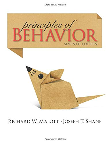 9780205959495: Principles of Behavior: Seventh Edition