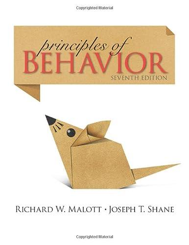 9780205959495: Principles of Behavior: Seventh Edition