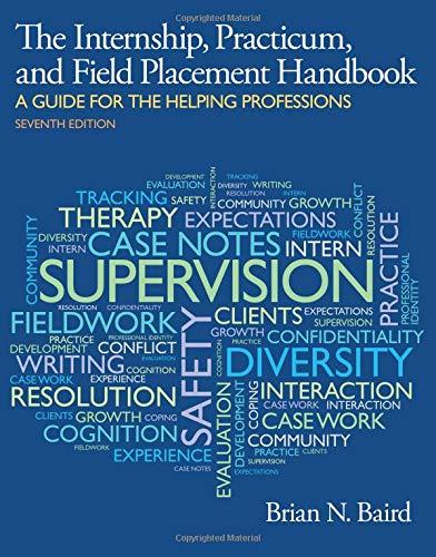 9780205959655: Internship, Practicum, and Field Placement Handbook
