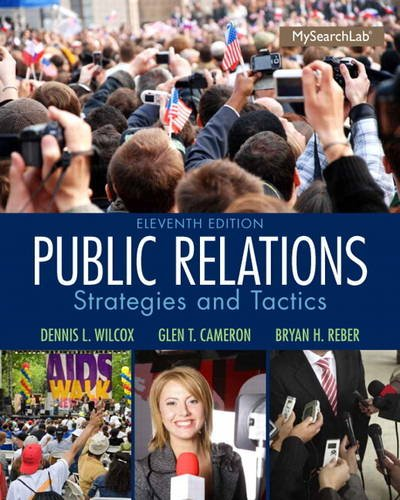 9780205960644: Public Relations: Strategies and Tactics (11th Edition)