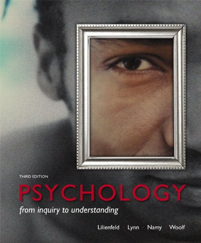 9780205961184: Psychology:From Inquiry to Understanding (paperback)