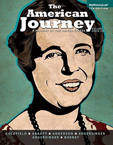 The American Journey, Volume 2, Black &: Barney, William, Argersinger,