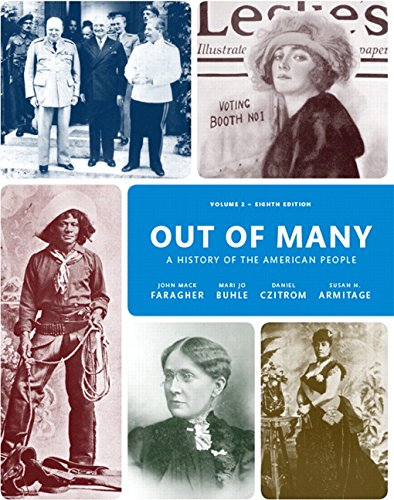 9780205962068: Out of Many: A History of the American People: 2