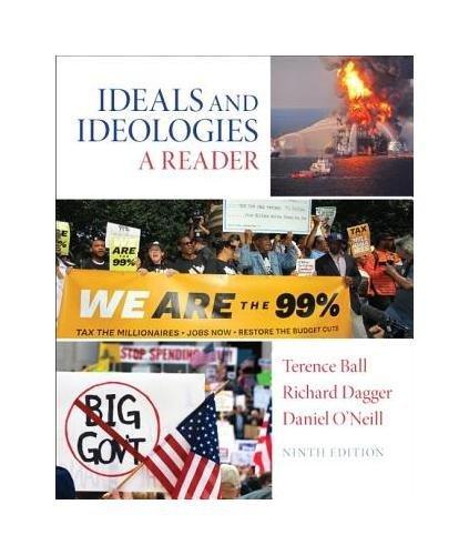 9780205962549: Ideals and Ideologies: A Reader