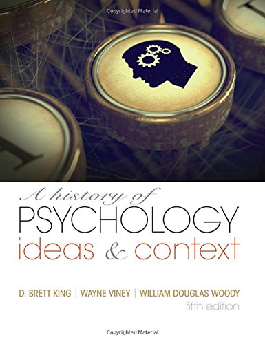 9780205963041: A History of Psychology: Ideas and Context