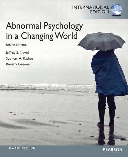 9780205963454: Abnormal Psychology in a Changing World: International Edition