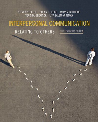 9780205964772: Interpersonal Communication: Relating to Others, Sixth Canadian Edition Plus MyCommunicationLab with Pearson eText -- Access Card Package (6th Edition)