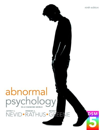 9780205965014: Abnormal Psychology in a Changing World Plus NEW MyPsychLab with eText -- Access Card Package (9th Edition)