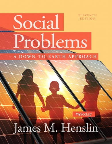 9780205965120: Social Problems: A Down to Earth Approach (11th Edition)
