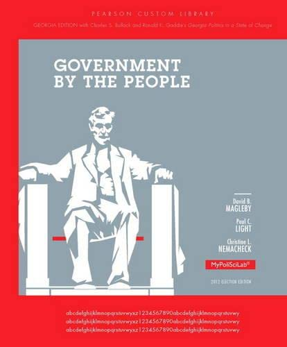 9780205966240: Government by the People: Georgia Edition