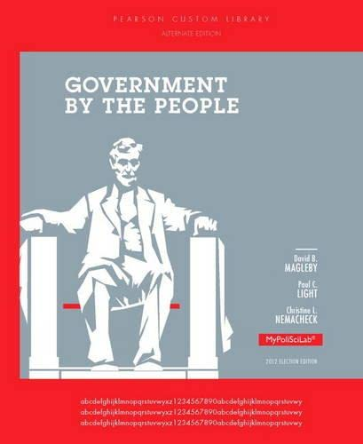 9780205966271: Government by the People