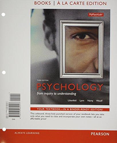 Psychology: Scott Lilienfeld