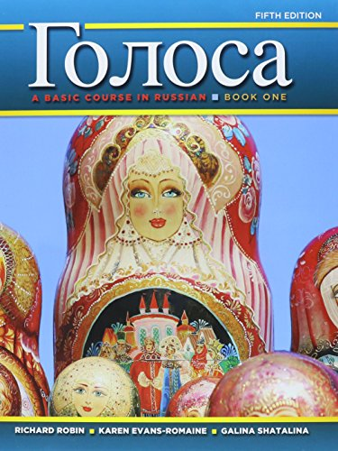 9780205970025: 1: Golosa: A Basic Course in Russian, Book One; MyRussianLab with Pearson eText -- Access Card -- for Golosa: A Basic Course in Russian, Book One ... Course in Russian, Book One (5th Edition)