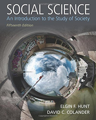 9780205971459: Social Science: An Introduction to the Study of Society