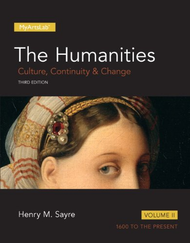 9780205978212: 2: Humanities: Culture, Continuity and Change, Volume II, The (3rd Edition) (Myartslab)
