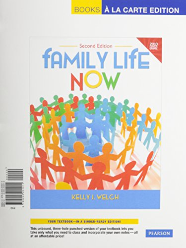 9780205979424: Family Life Now Census Update Books a la Carte Plus MySocLab with Pearson eText-- Access Card Package (2nd Edition)